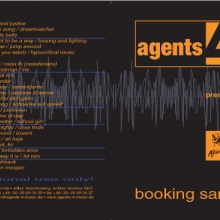CD-Cover für Promo-CD (Agents4Music, 2004)